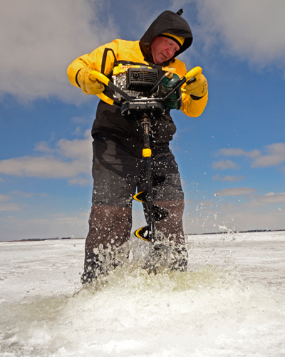 Ice Fishing Auger Wars Drilling For Answers