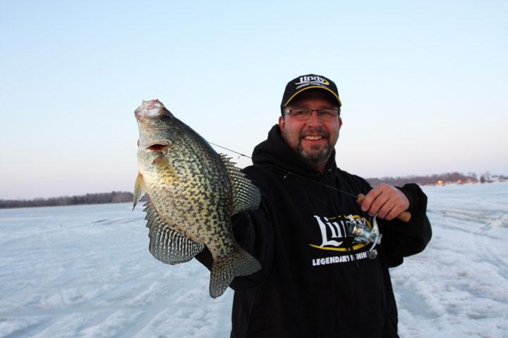 Crappie Ice Fishing | Ice Fishing Crappies Daniel Quade Paul Fournier