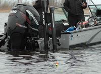 image of pike anglers using floats
