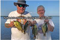 image of Kyle and Karen Reynolds with nice crappies