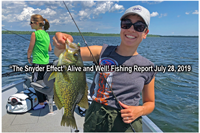 image of Cynthia with huge crappie