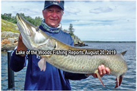 image of Joe Cooper with huge muskie
