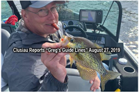 image of dennis rule with crappie