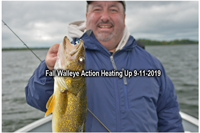 image of scott johnson with big walleye