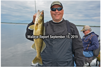image of paul kautza with big walleye