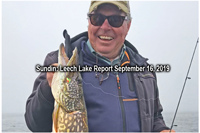 image links to leech lake fishing report
