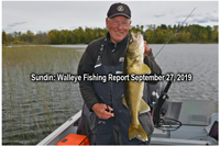 image of jeff sundin with big walleye