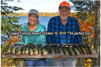 image of Mike and Mary Mueller with crappies