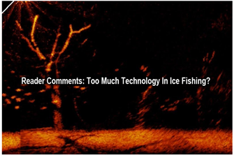 image of ice fishing electronics