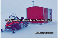 image of ice fishing rental shack