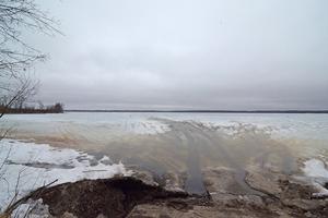 image of public landing at splithand lake