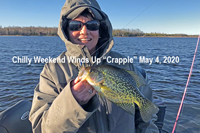 image of Hippie Chick with nice crappie