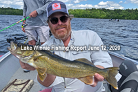 image links to bowen lodge fishing report
