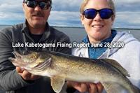 image of angler with nice kabetogama walleye