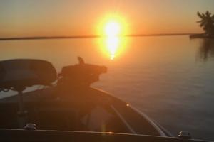image of sunrise at kabetogama