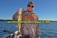 image links to lake winnie fishing report