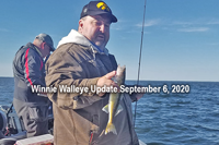 image links to lake winnie fishing report