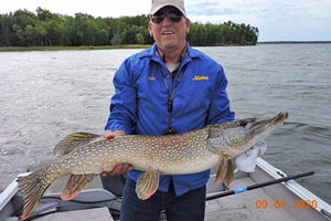 image links to kabetogama fishing report
