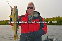 image links to winnie walleye fishing report