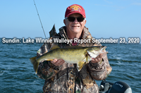 image links to walleye report from winnie
