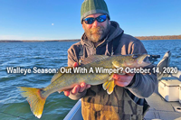 image of Chris Andresen with Winnie Walleye