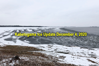 image links to ice report from Lake Kabetogama