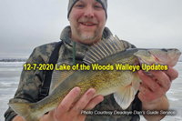 image of Dan Anderson with nice walleye from Lake of the Woods