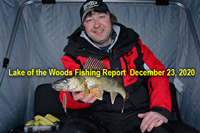 image links to Lake of the Woods Walleye Report