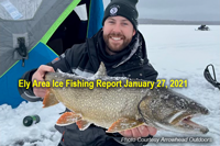 image links to Ely Area ice fishing report