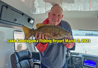 image links to Kabetogama ice fishing report