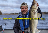 image of Anch Willard with big Rainy River walleye