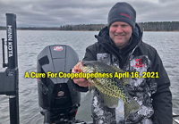 image of angler holding nice crappie