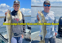 mage links to Bowen Lodge Lake Winnie and Cutfoot Sioux Fishing Report