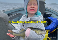 image links to fishing report from the Ely Minnesota region