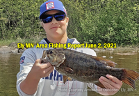 image links to fishing report from the ely mn area