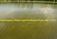 image links to fishing report from lake kabetogama
