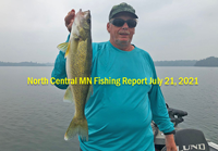 image from the Daikin Fish-A-Roo links to fishing report by Jeff Sundin