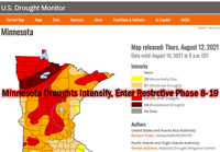 image of Drought Monitor Map tht links to the U.S. Drought Monitor Website