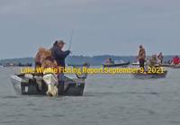 image links to Lake Winnibigoshish fishing report