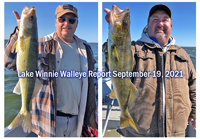 image links to lake winnie fishing report by the pines resort