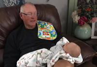 image of Audrey Jones with grandpa