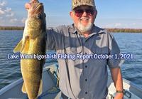 image of Ken Seufert with big walleye caught on lake winnibigoshish