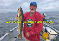 image of Mike Colley with nice walleye caught on Lake Winnibigoshish