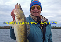 image links to Grand Rapids area fishing report