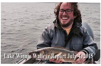 Fishing report minnesota fish news mn leech winnibigoshish for Lake winnie fishing report