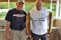 image of jeff sundin and mike nolan with nice pike