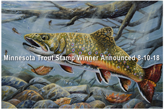 image of trout stamp