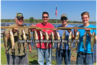 image links to red lake fishing report