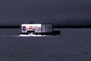 image of ice castle fishing sleeper