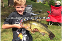 image of Will with big Largemouth Bass